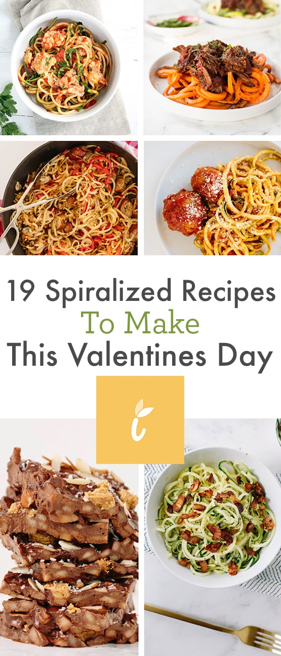 19 Spiralized Recipes To Make This Valentines Day