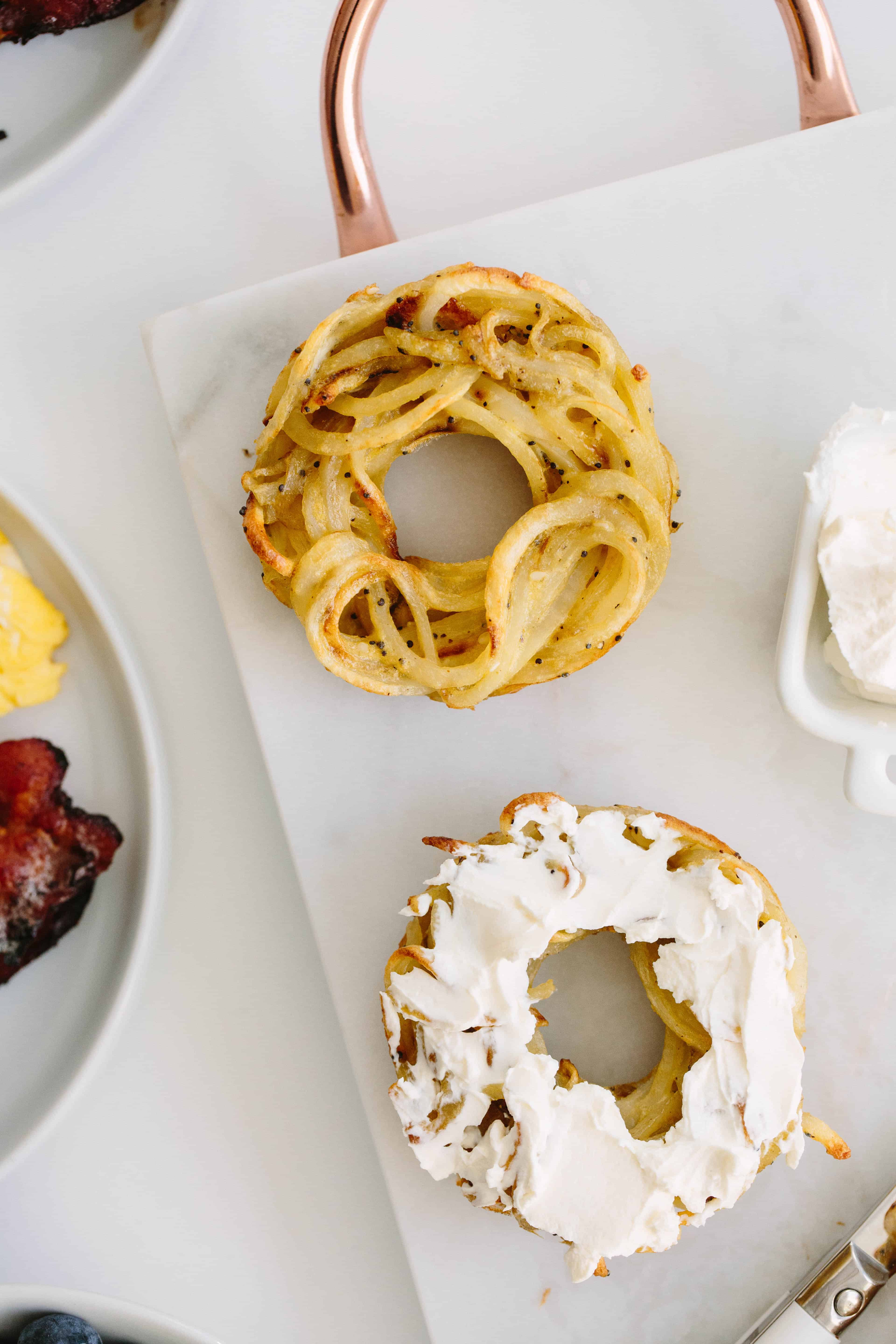 Spiralized Everything Bagels