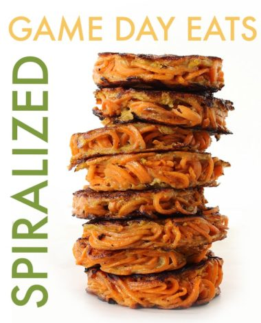 14 Spiralized Game Day Eats to Make This Super Bowl Sunday!