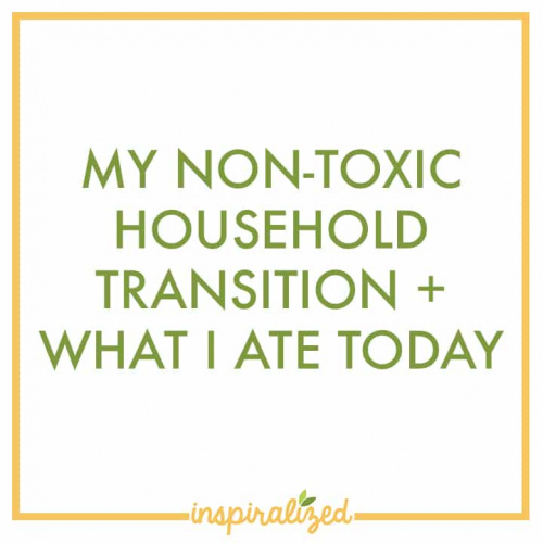 My Non-Toxic Household