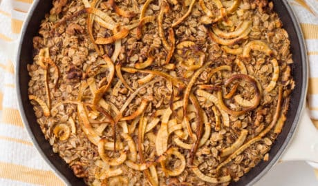 Baked Oatmeal with Spiralized Apples