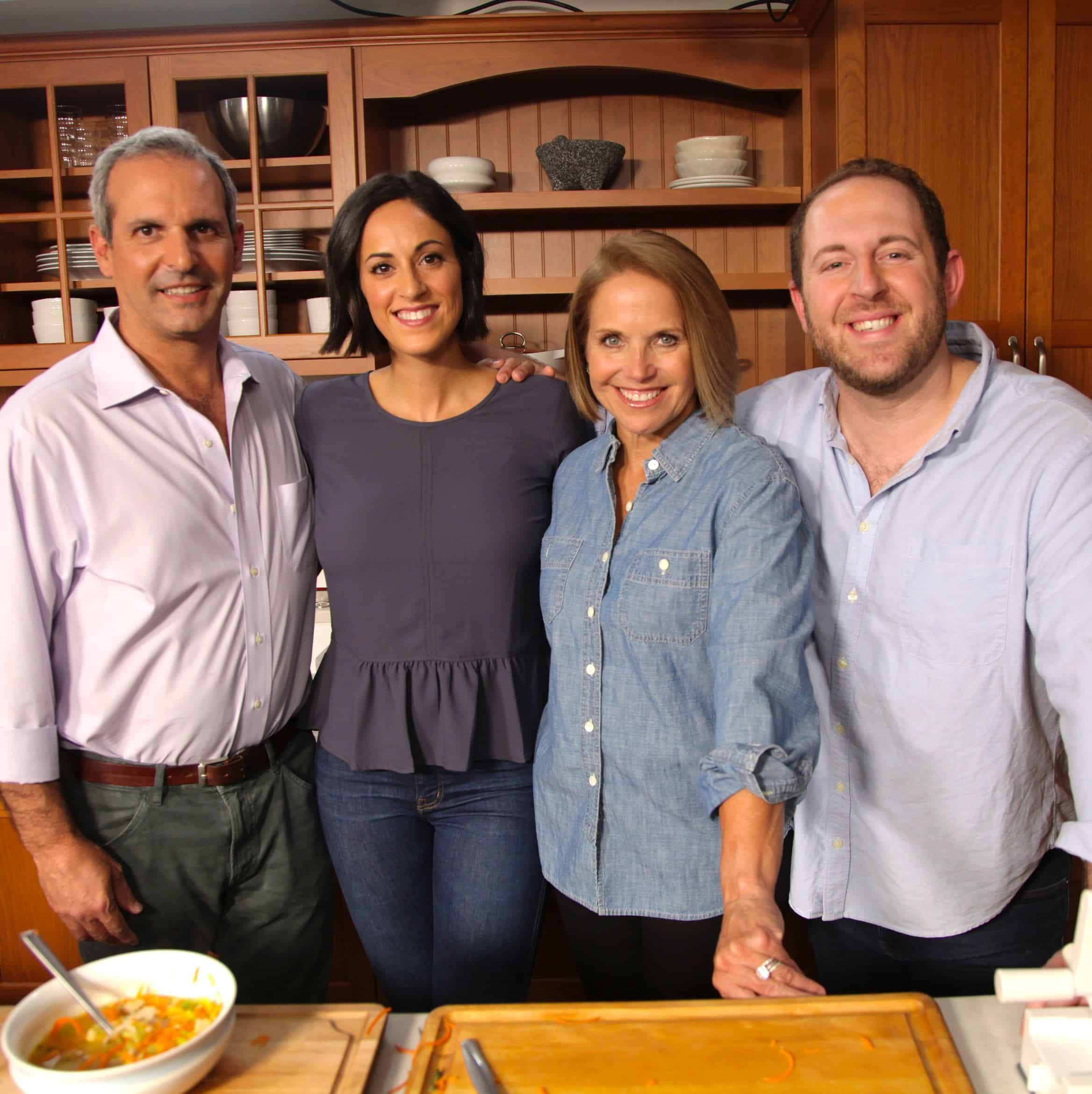 Katie Couric and Inspiralized for Sur La Table