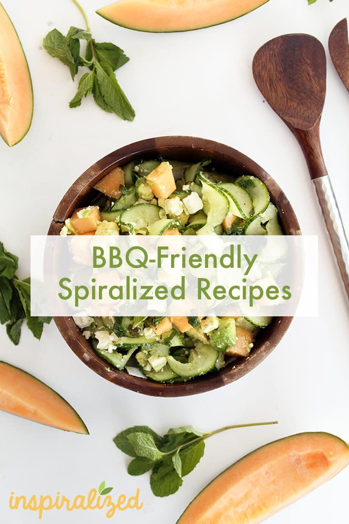 Spiralized Recipes For Your Memorial Day BBQ