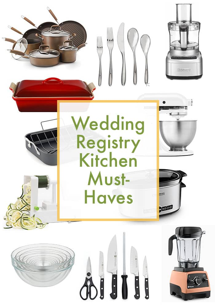 Wedding Registry Must Haves For Your Kitchen