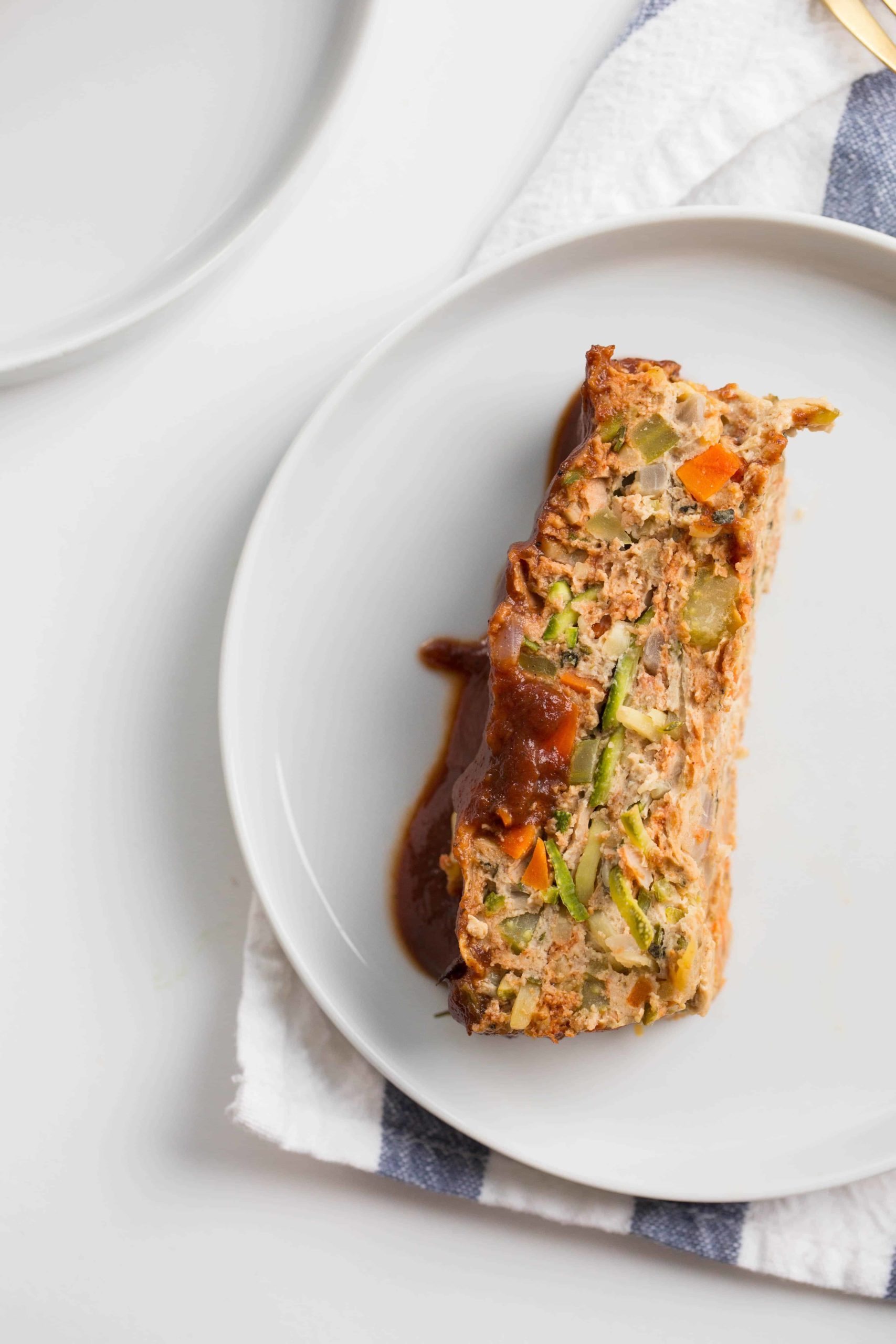 Gluten-Free Turkey Meatloaf with Zucchini Noodles