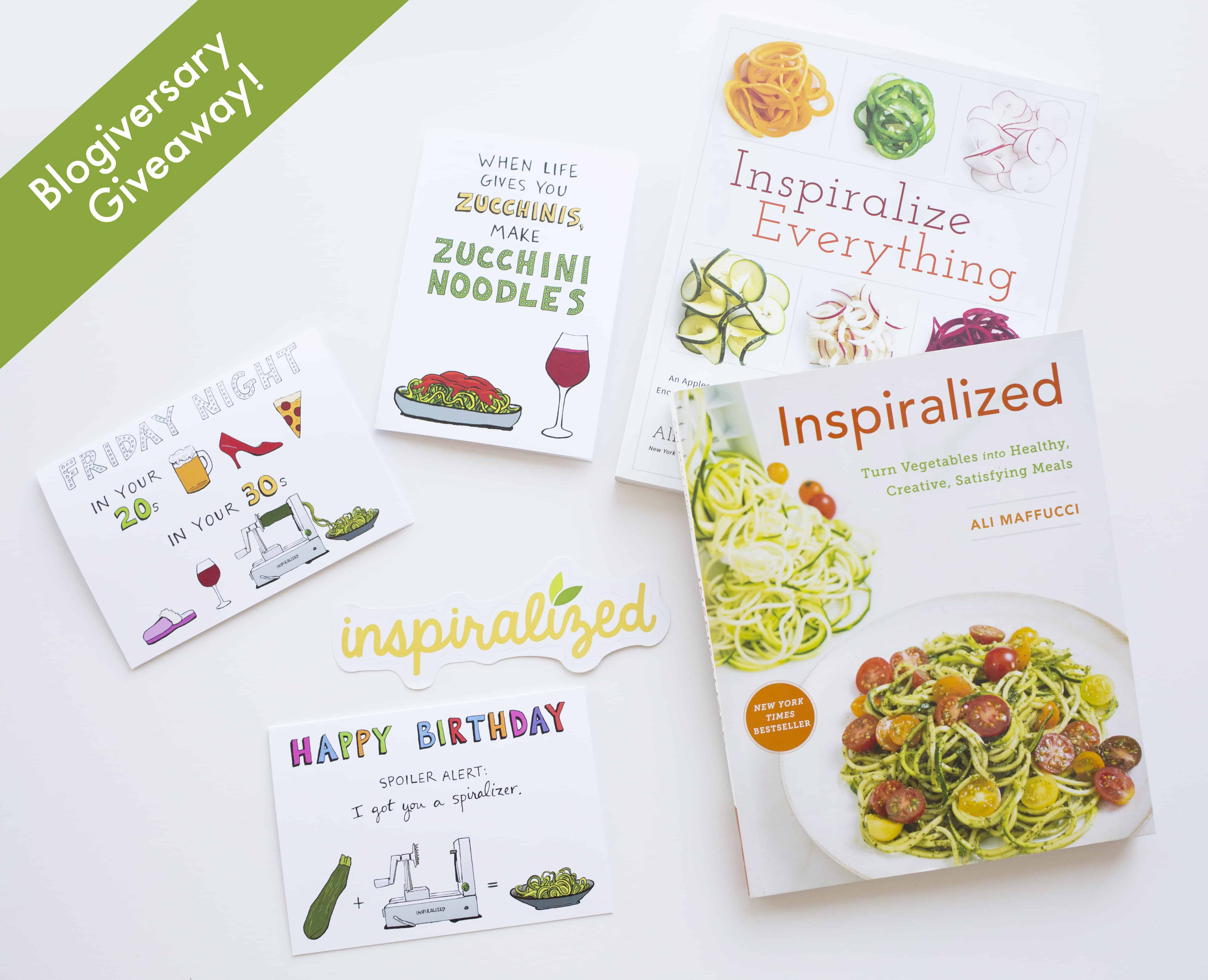 Inspiralized Giveaway