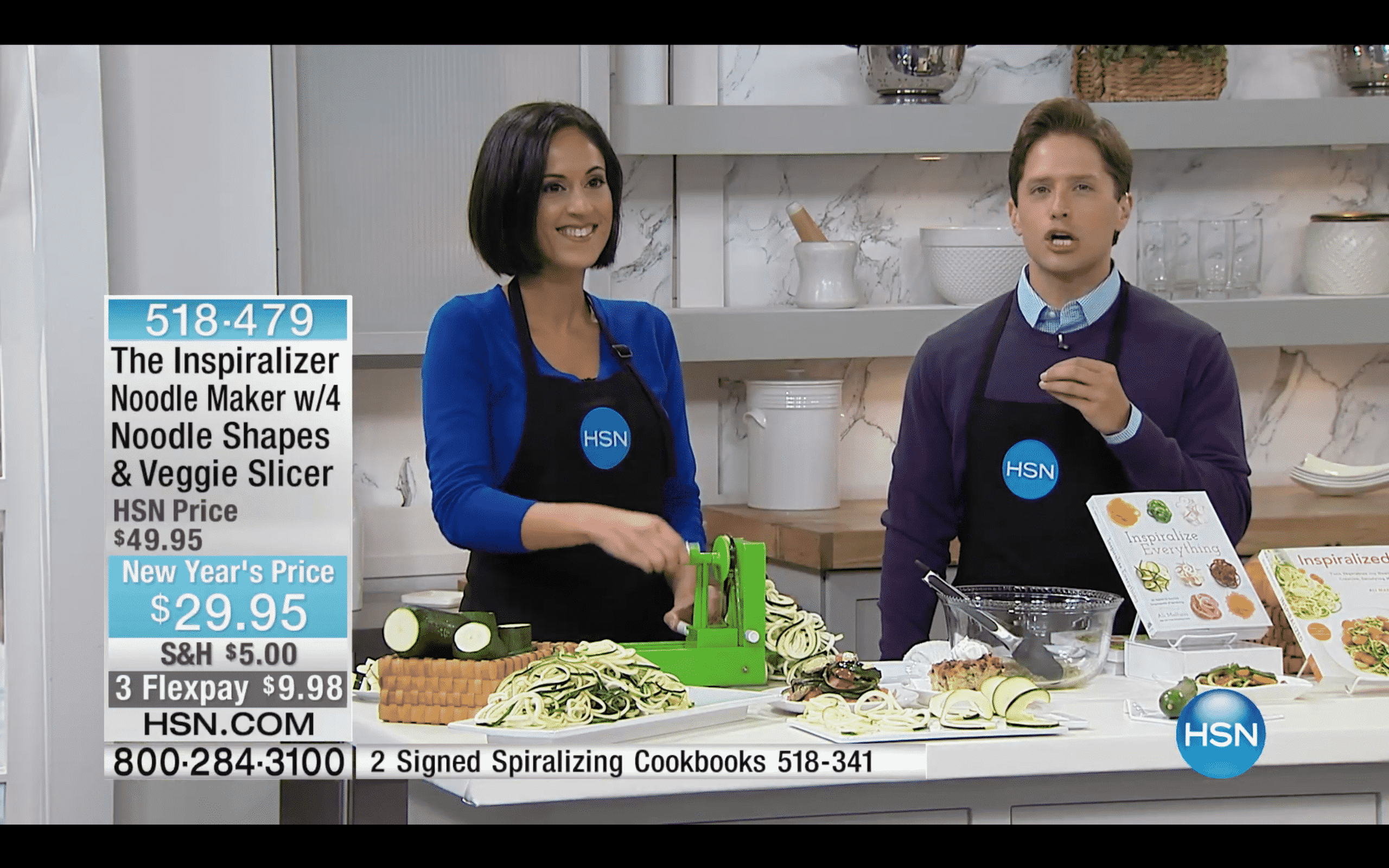 Inspiralized: I'm going back on HSN with the Inspiralizer!