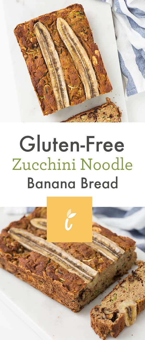 Gluten-Free Zucchini Noodle Banana Bread