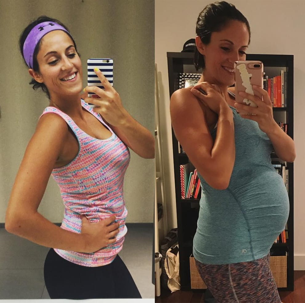 How My Exercise Routine Has Changed Throughout My Pregnancy