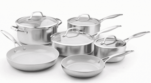 Extra durable cookware with a timeless design