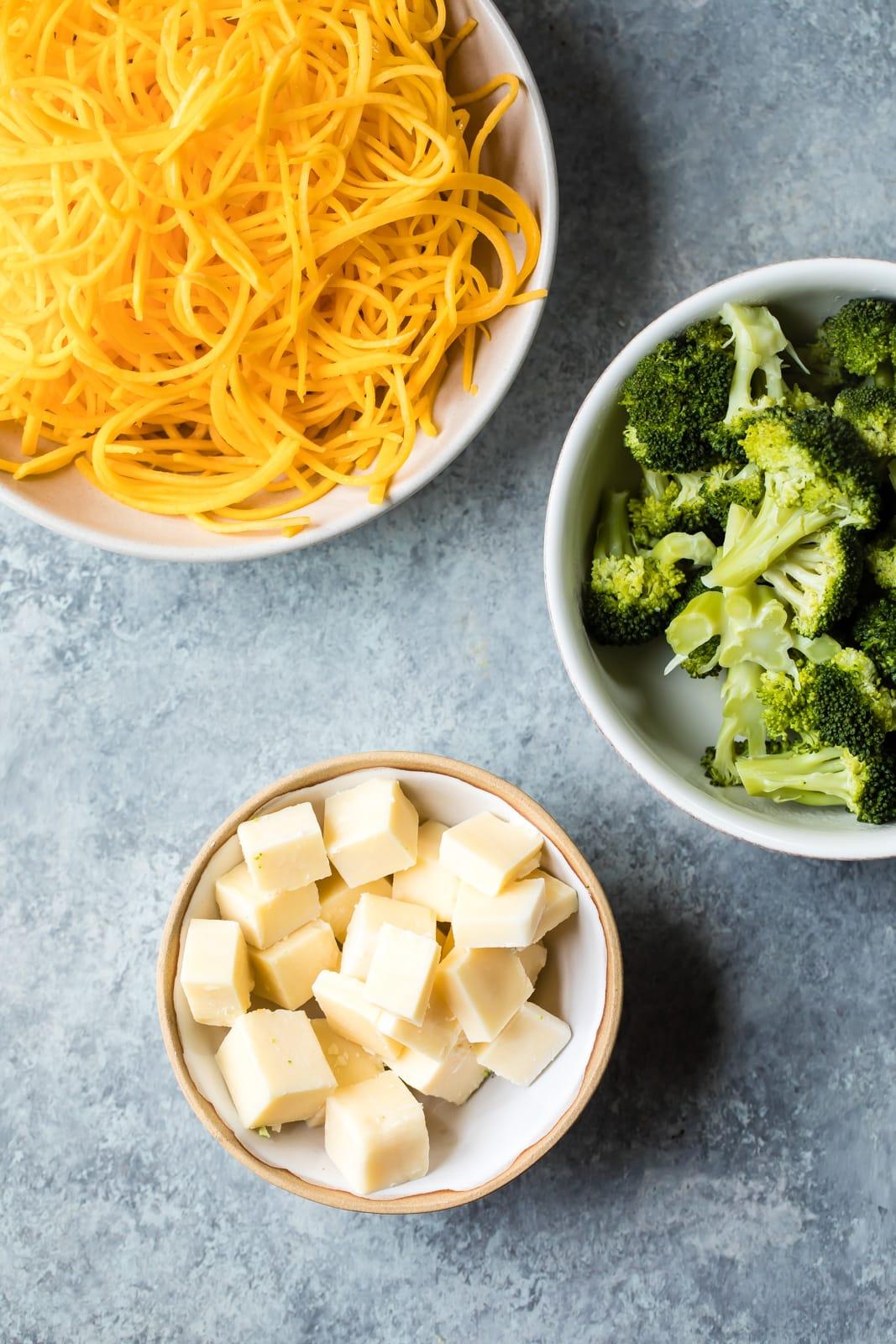 Broccoli & Butternut Squash Noodle 'Mac & Cheese'