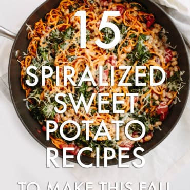 15 Spiralized Sweet Potato Recipes To Make This Fall