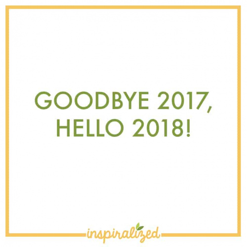 Goodbye 2017, Hello 2018!