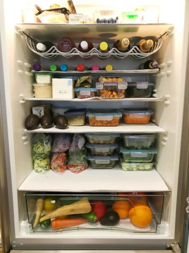 Sunday Meal Plan and Prep