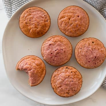 Beet and Oat Banana Muffins