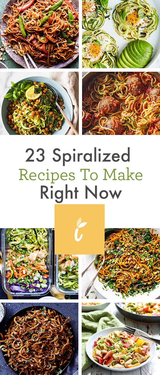 23 Spiralized Recipes To Make Right Now