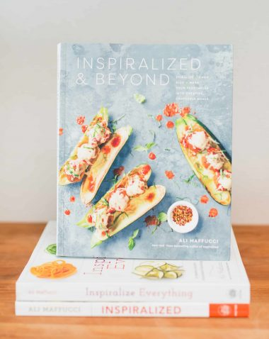 The Inspiralized and Beyond Cookbook Is Out, Let's Make Mexican Hot Chocolate Brownies!