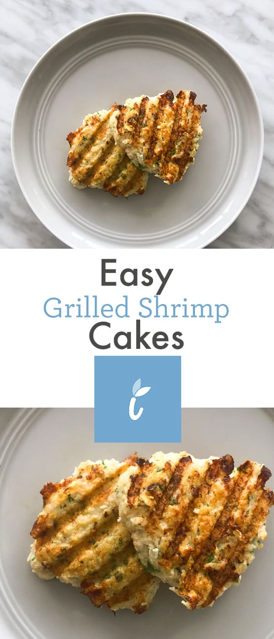 Easy Grilled Shrimp Cakes