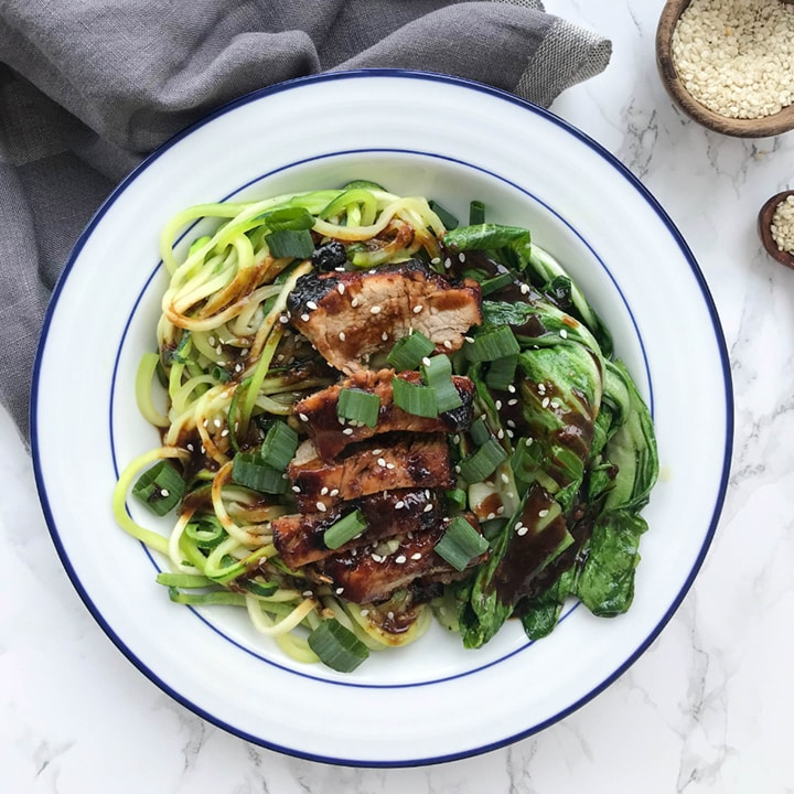 17 Healthy Dinner Ideas with Zucchini Noodles