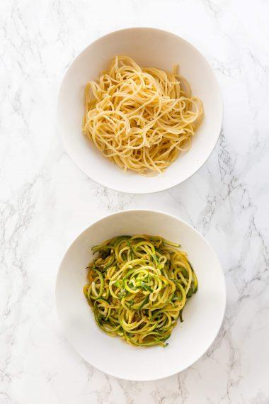 Spaghetti vs. Zoodles