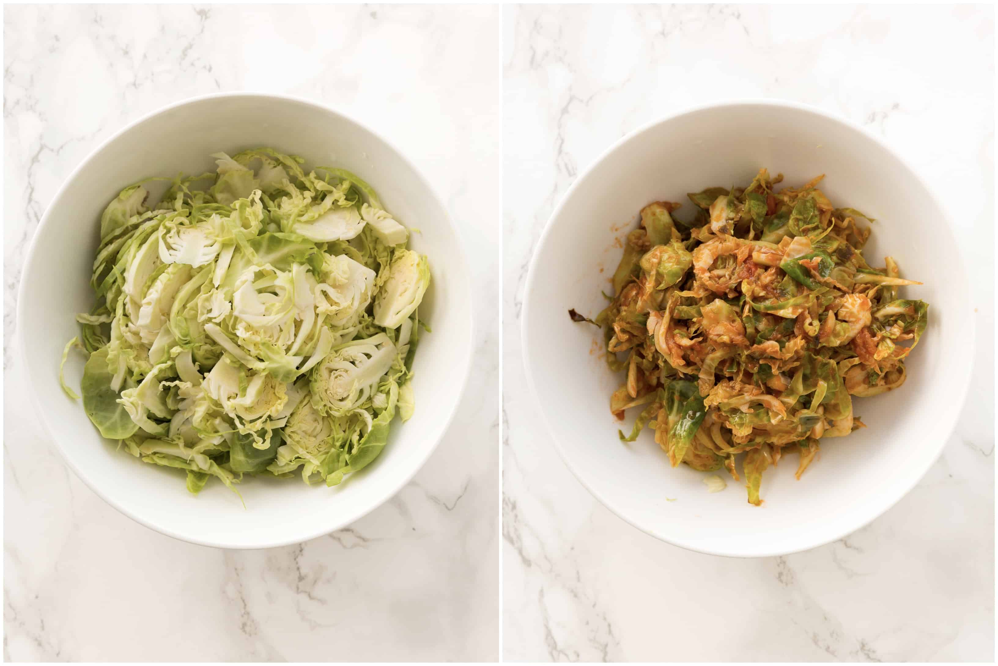 6 Healthy Pasta Alternatives - Brussels Sprouts Pasta