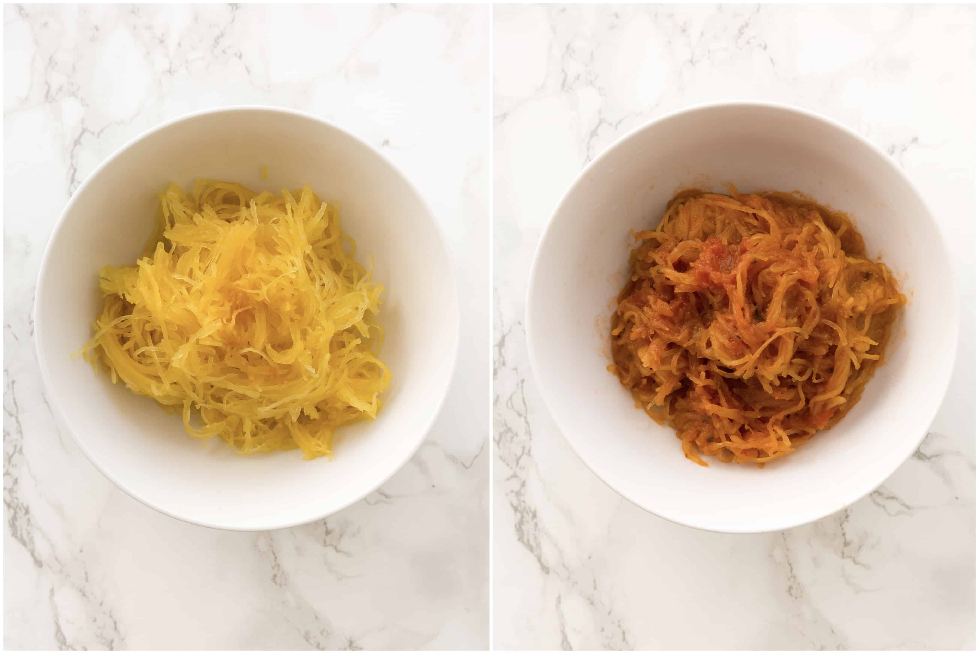 6 Healthy Pasta Alternatives - Spaghetti Squash Pasta