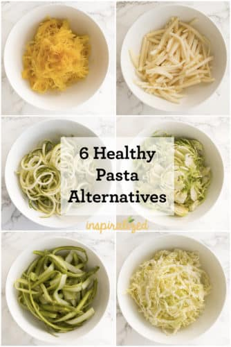 6 Healthy Pasta Alternatives