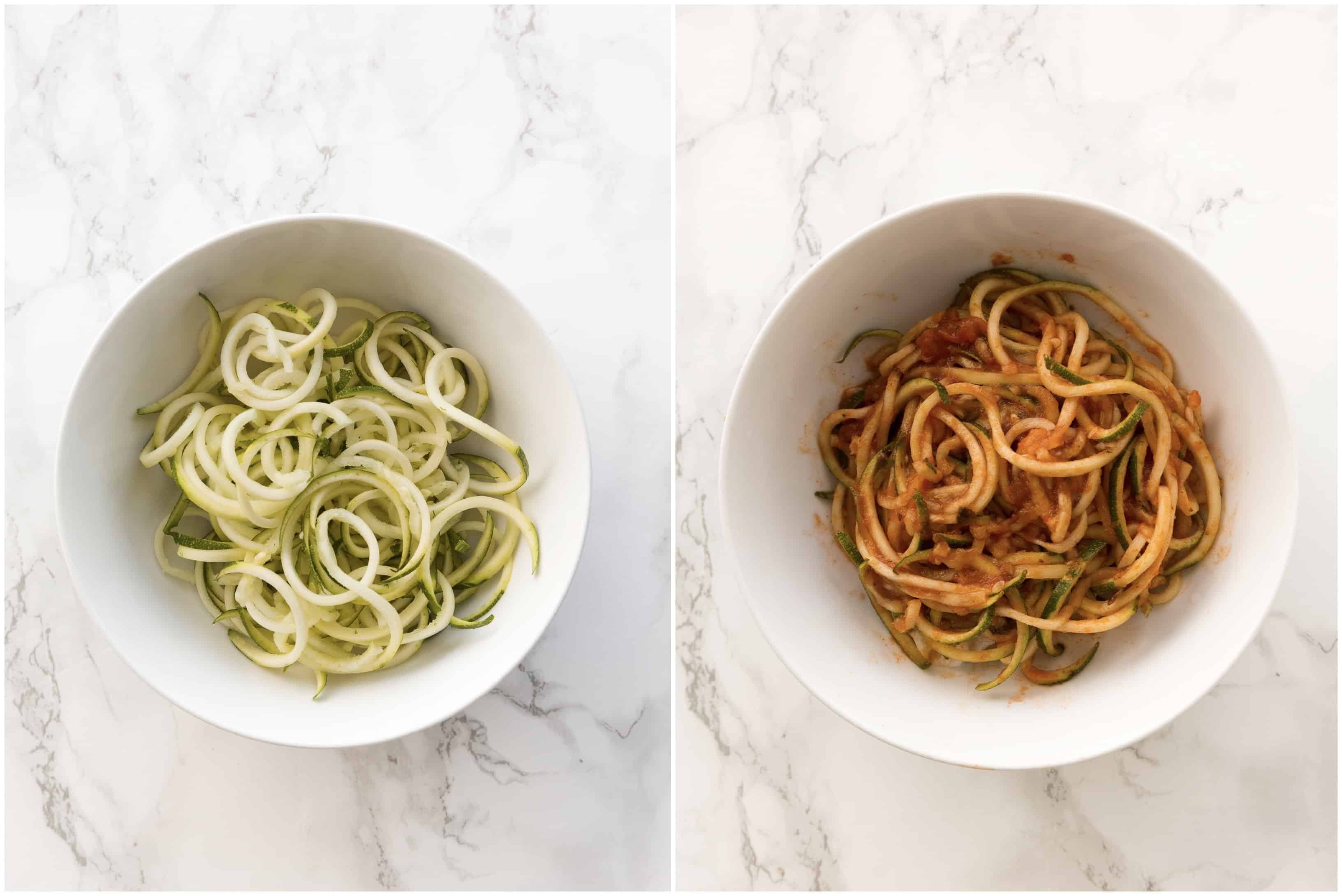 6 Healthy Pasta Alternatives - Zucchini Noodles or Zoodles