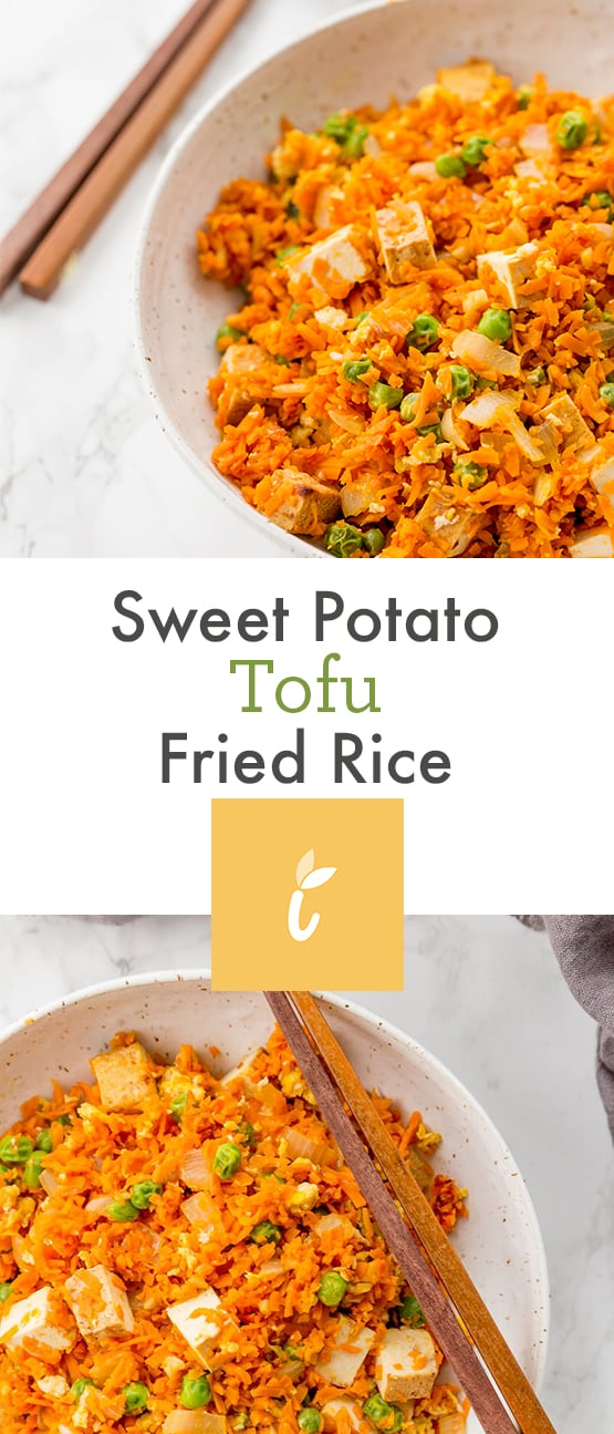 Sweet Potato Tofu Fried Rice