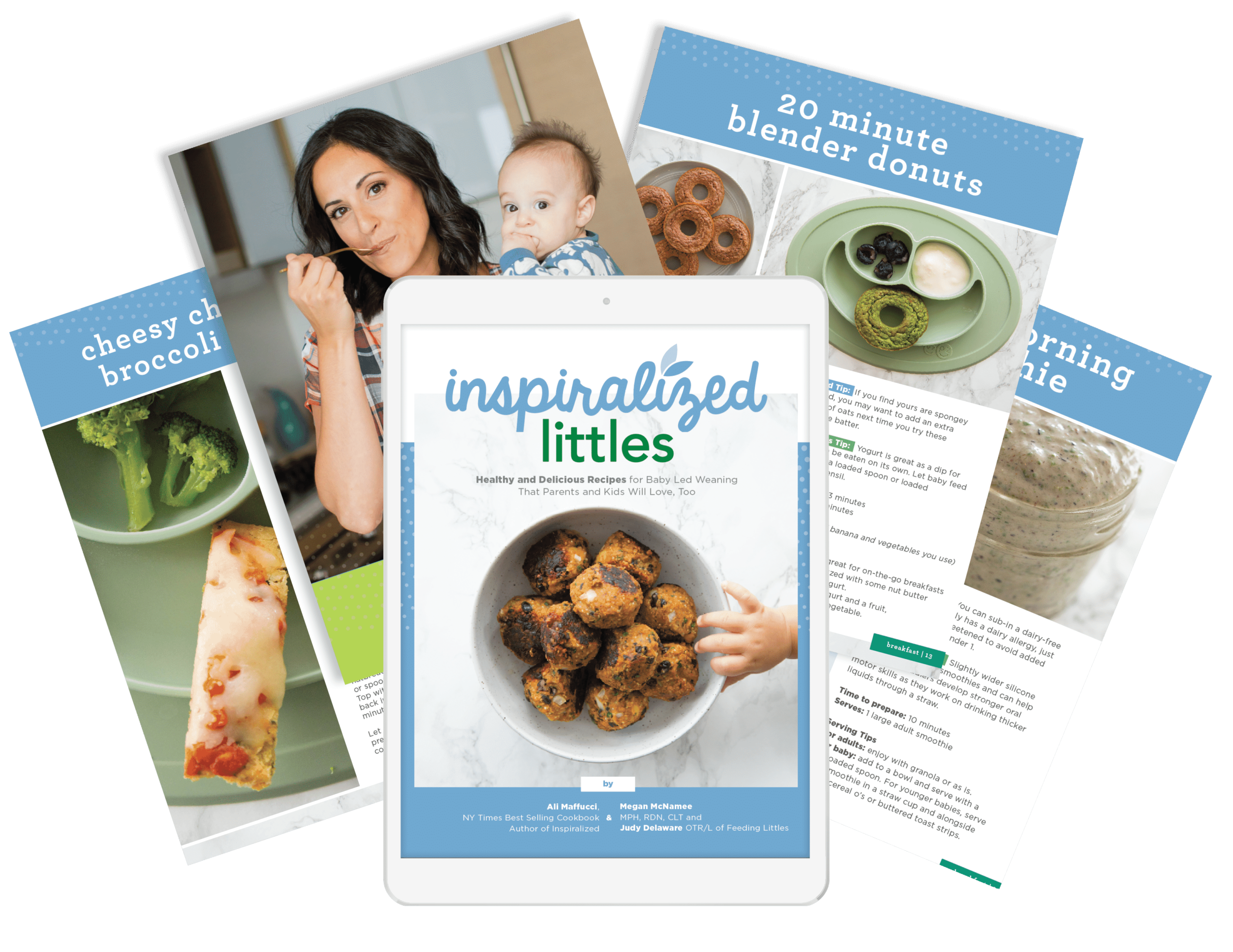 Inspiralized Littles Baby Led Weaning eCookbook