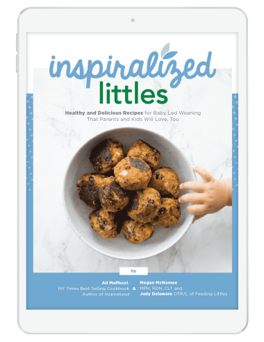 Inspiralized Littles: eCookbook for Baby Led Weaning