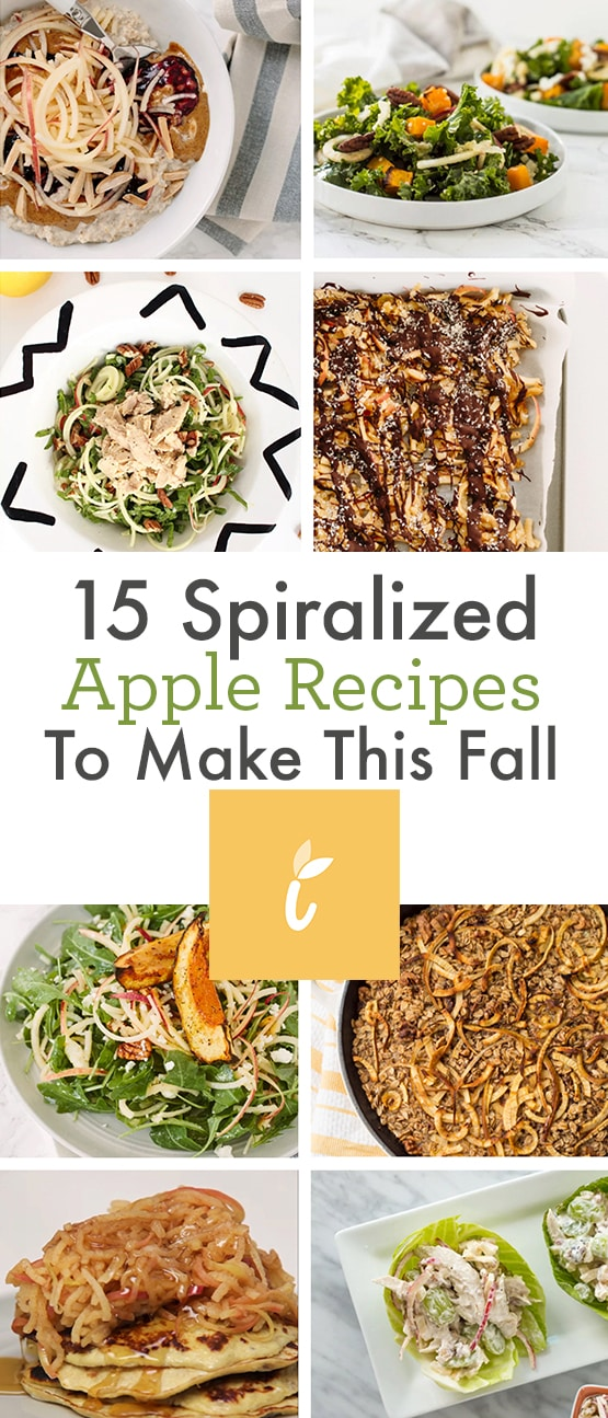 15 Spiralized Apple Recipes To Make This Fall