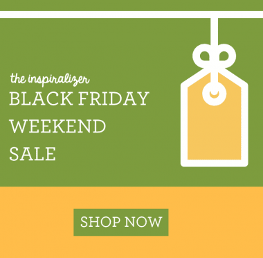 Black Friday Weekend Sale on the Inspiralizer