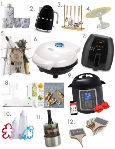 Holiday Gift Guides for the Cook, For Him and For Her