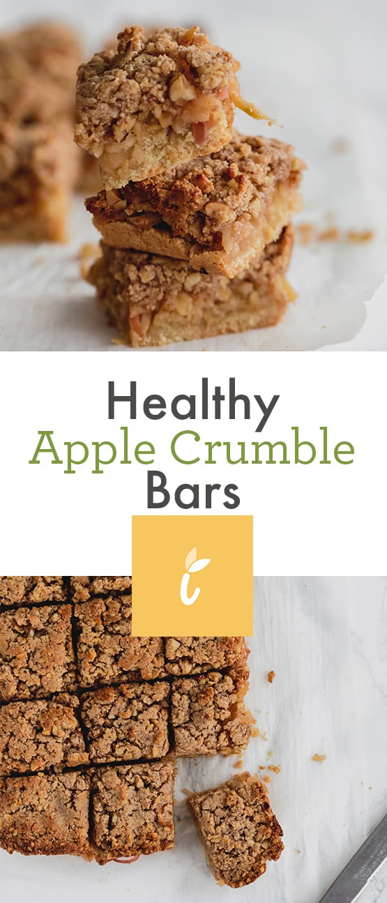 Healthy Apple Crumb Bars