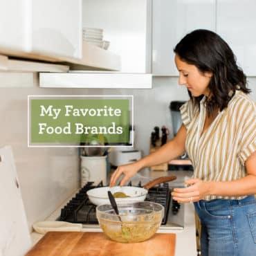 My Favorite Food Brands