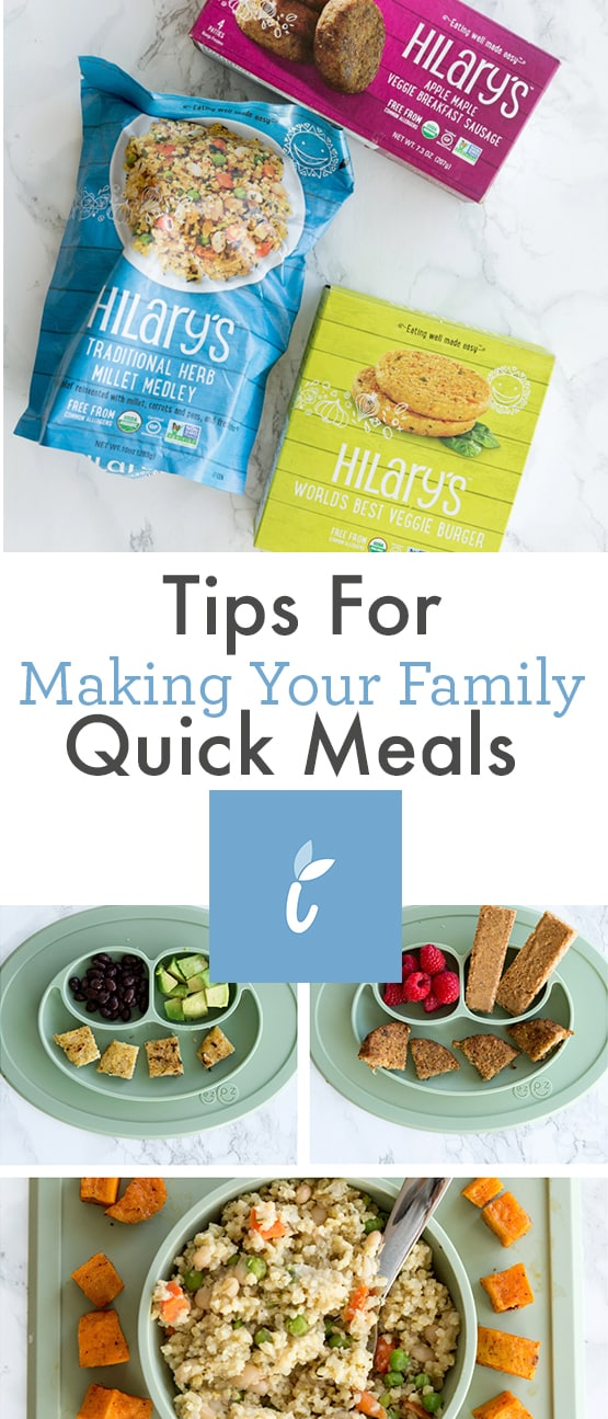 Tips for Making your family quick meals