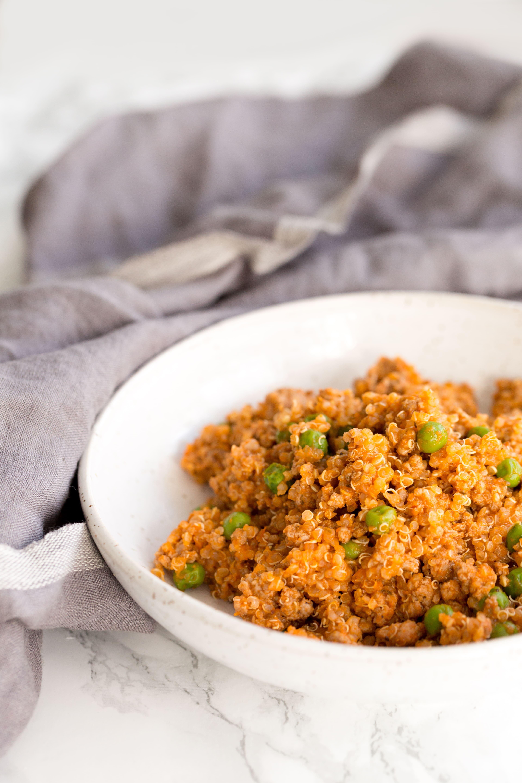 Turkey and Quinoa Marinara Skillet