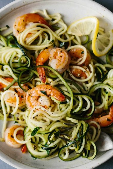 21 Spiralized Recipes On Our Must Make List