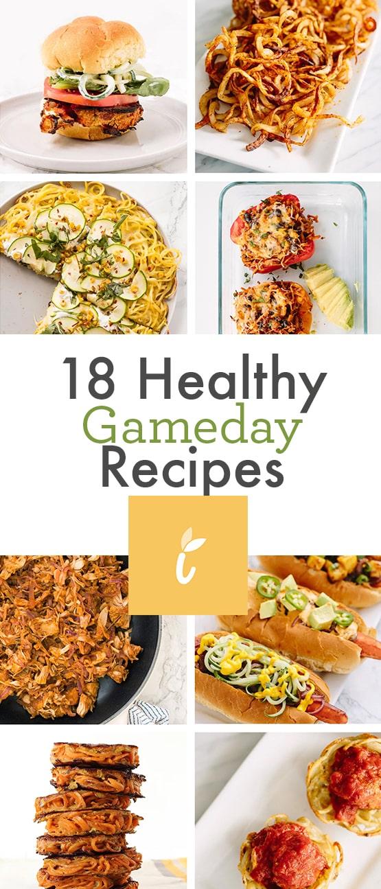 18 Healthy Gameday Recipes