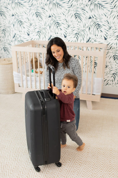 Tips For Plane Travel with a Young Toddler