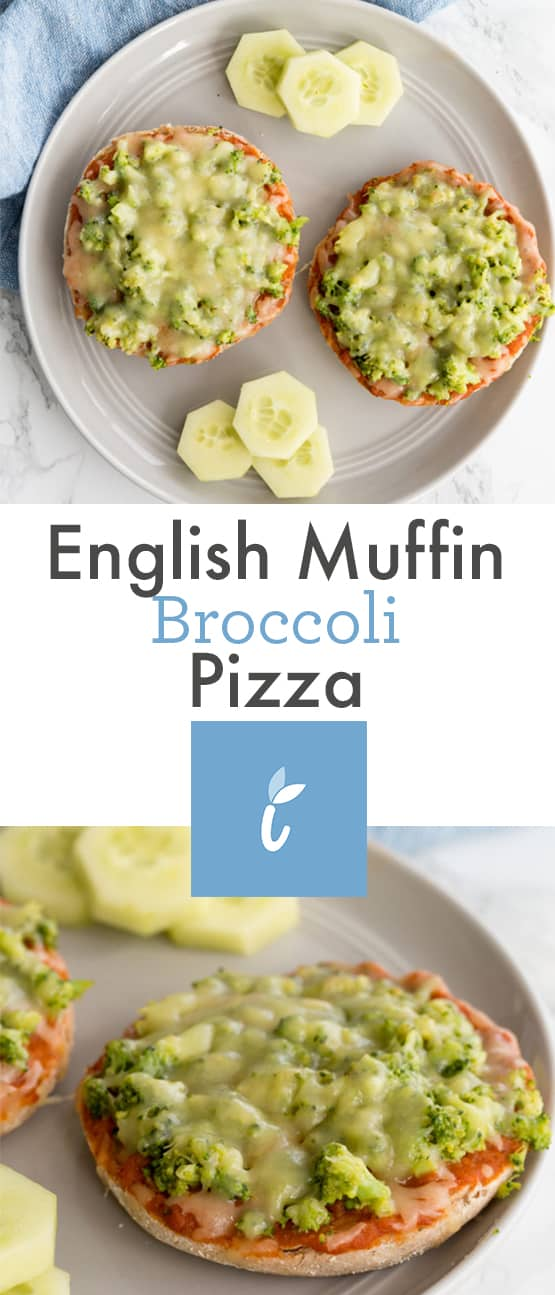 English Muffin Broccoli Pizza