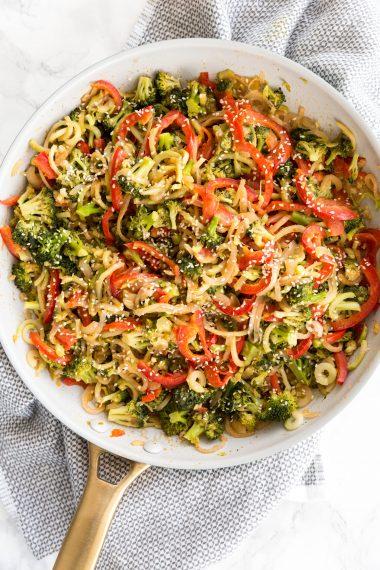 Peanut Broccoli Stirfry