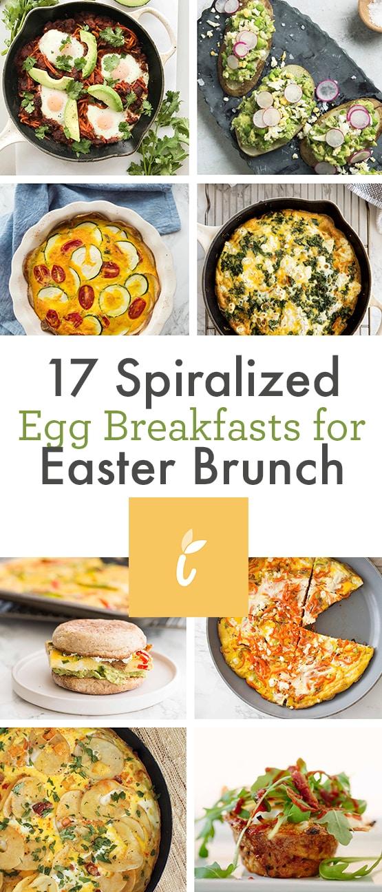 17 Spiralized Egg Breakfasts for Easter Brunch