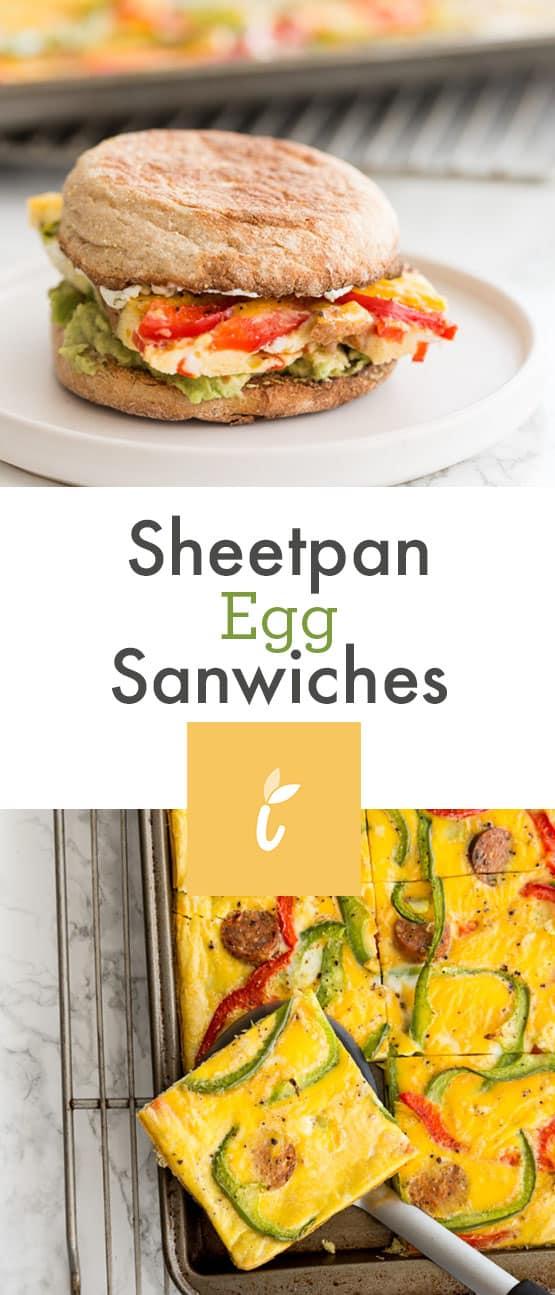 Sheetpan Egg Sandwiches