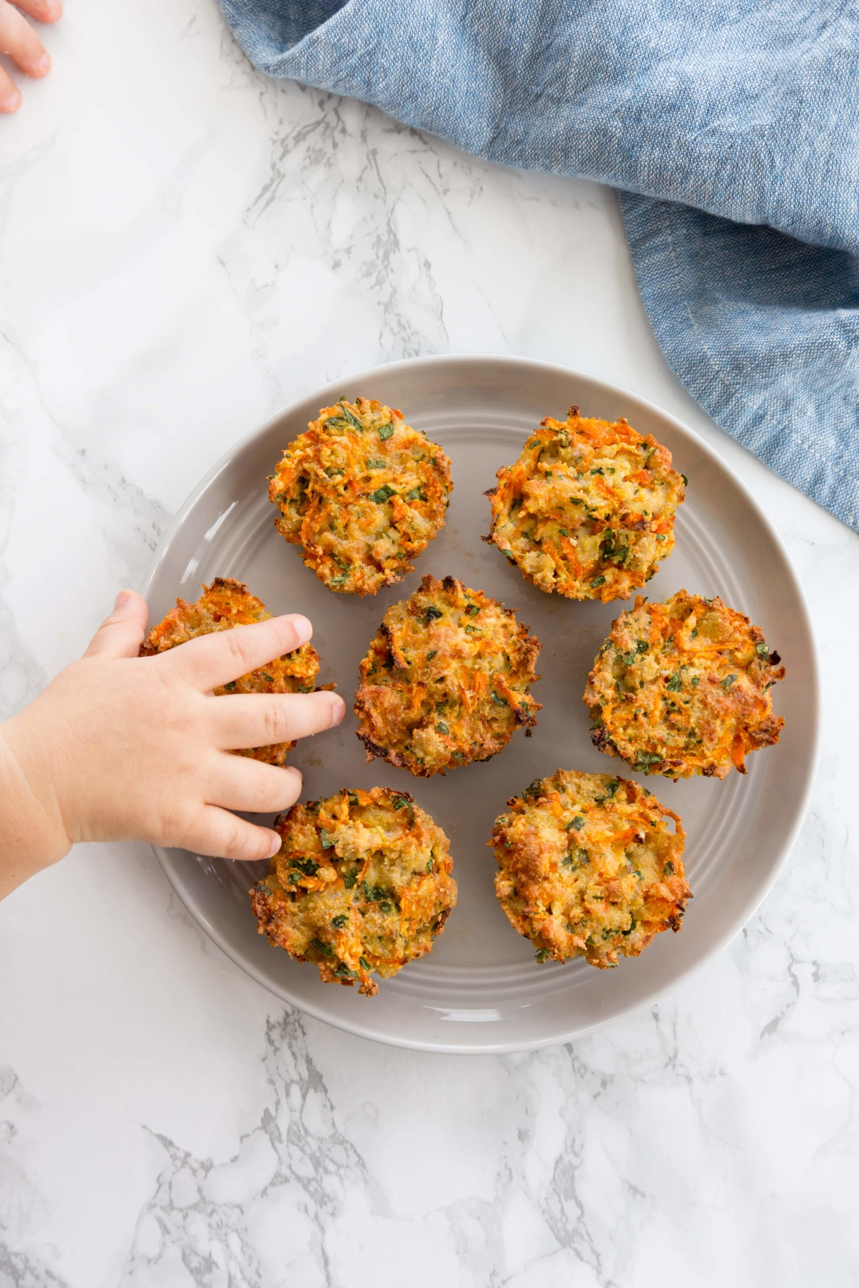 Chicken and Carrot Cups