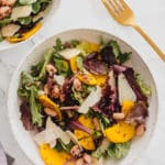 Parmesan, Red Quinoa & Golden Beet Salad