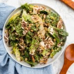 Little Gem Pear Salad with Walnut Vinaigrette