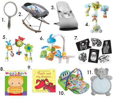 my must-haves and favorites: for baby play