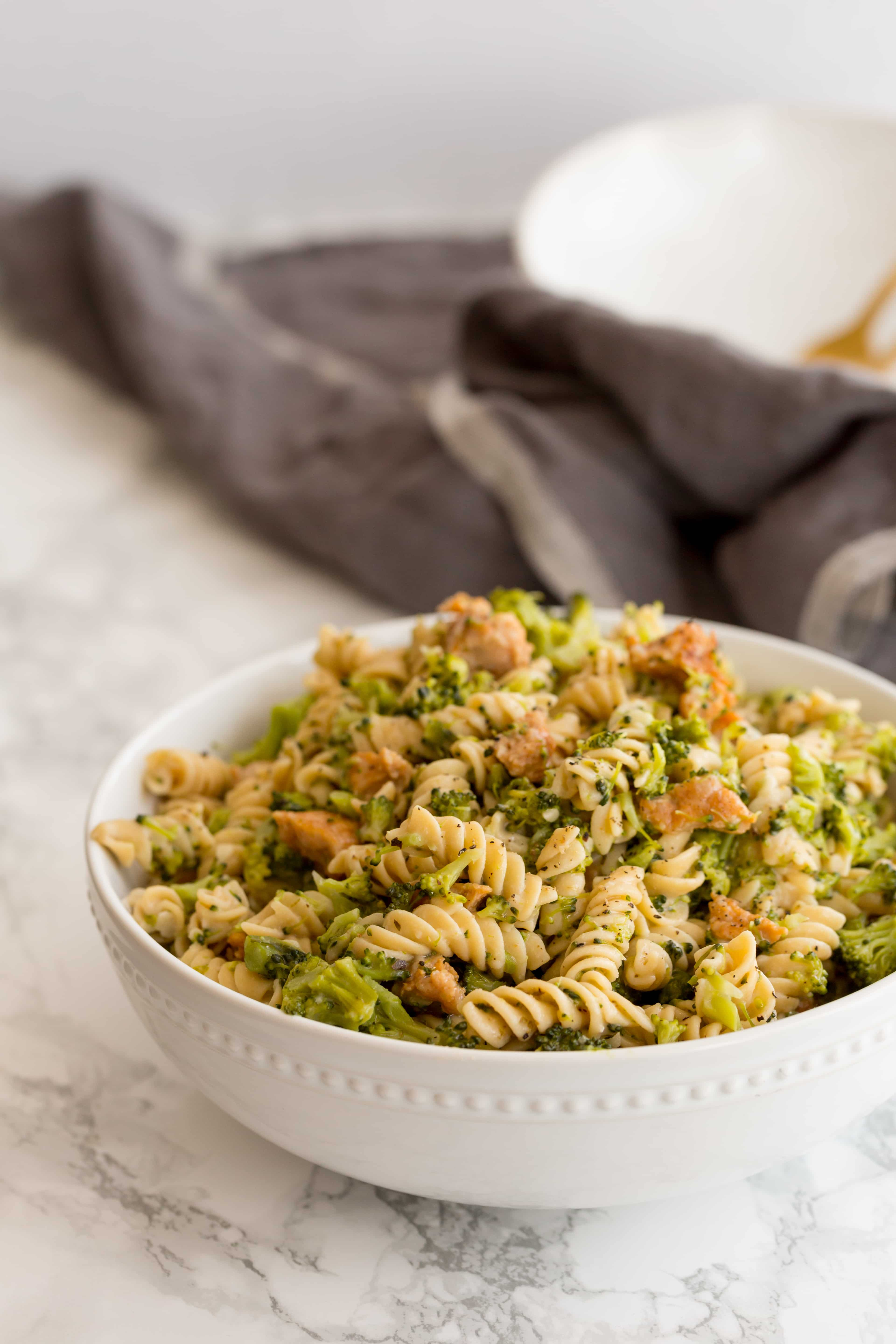 Chicken Sausage and Broccoli Pasta